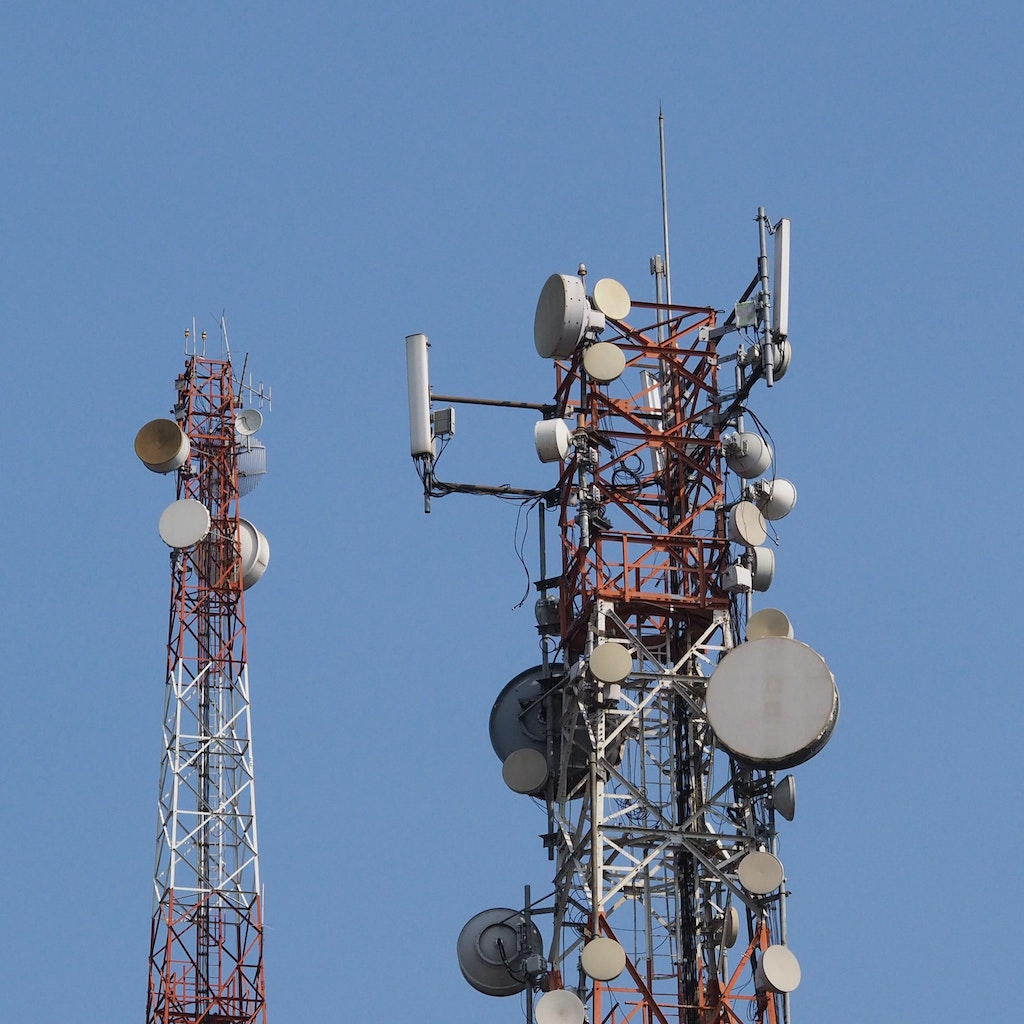 Antennas that ensure the functioning of the critical communication infrastructure and blue sky